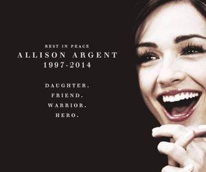 teen wolf, allison argent, and allison image