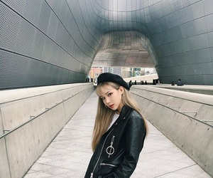 asian, blonde, and fashion image