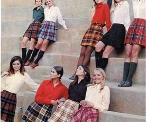 fashion, vintage, and girl image