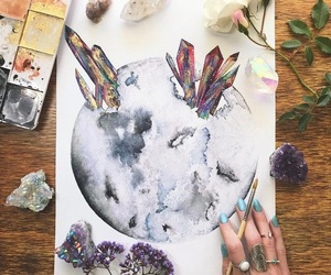 art and crystal image