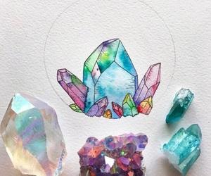 crystal and art image