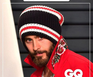 30 seconds to mars, gq magazine, and jared leto image