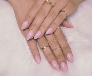baby pink, female, and rings image