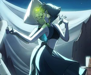 steven universe and lapis and peridot image
