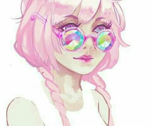 pink, art, and anime image