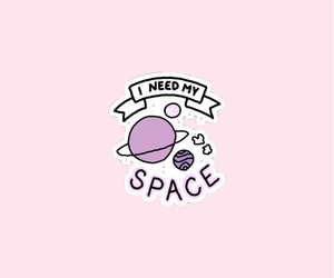 space, pink, and aesthetic image
