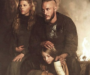 vikings, lagertha, and family image