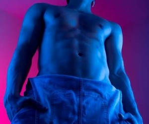 blue, body, and man image