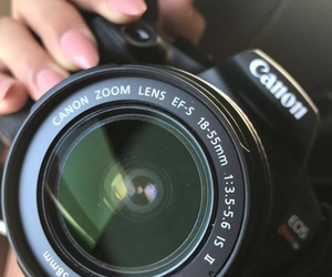 lens, canon, and nails image
