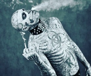 tattoo and zombieboy image