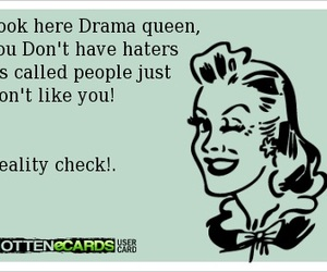 drama queen, ecards, and fun image