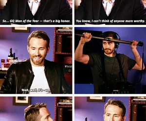 actor, funny, and jake gyllenhaal image