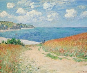 art and claude monet image