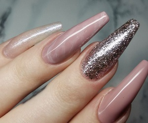 glitter, marble, and Nude image