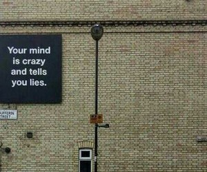 quotes, crazy, and mind image