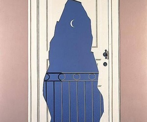 art, door, and magritte image