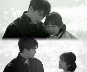 couples, k drama, and park bo young image
