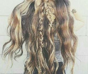 braids, girl, and fashion image