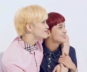 mark lee, nct, and markhyuck image