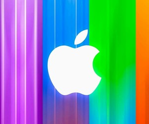 apple, pattern, and wallpaper image