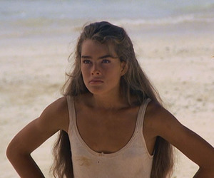 brooke shields, pink, and the blue lagoon image
