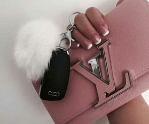 fashion, pink, and bag image