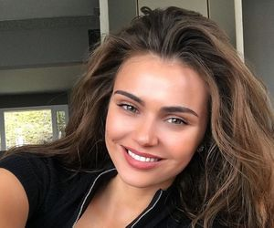 xenia deli, brunette, and flawless image