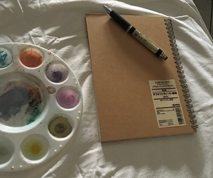 art, morning, and sketch book image