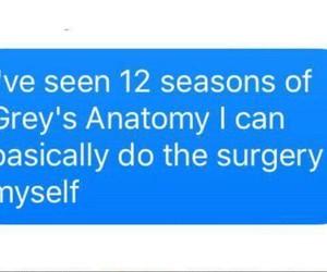 anatomy, surgry, and Greys image