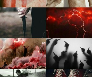 ares, percy jackson, and halfblood image