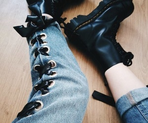 dr martens, style, and aesthetics image