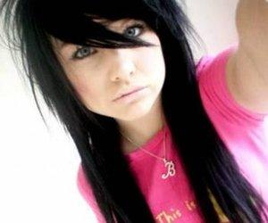 black hair, brook, and girl image