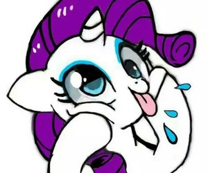 rarity, my little pony, and cute image
