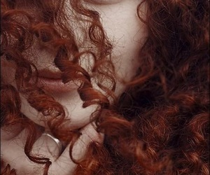hair, merida, and aesthetic image