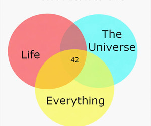 42, everything, and life image