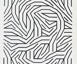 geometric, lines, and art image