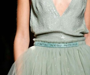 haute couture, mint, and Valentino image