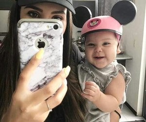 baby, minnie, and cute image
