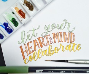 lettering, motivation, and quote image