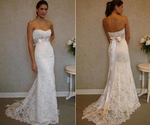wedding dress and jim hjelm image