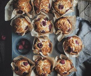 muffins, delicious, and desserts image