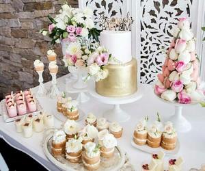 cake, cupcakes, and happy birthday image