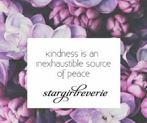 kind, peace, and quote image