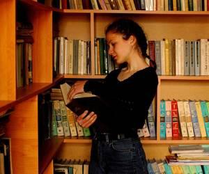 art, black, and books image