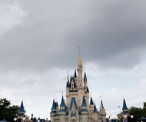 castle, disney, and florida image