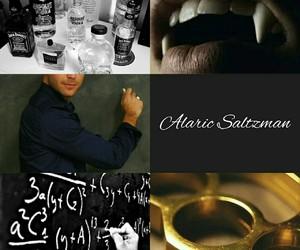the vampire diaries and alaric saltzman image