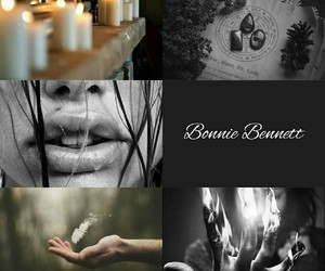 witch, the vampire diaries, and bonnie bennett image