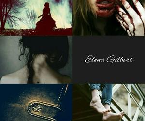 the vampire diaries, elena gilbert, and aesthetic image