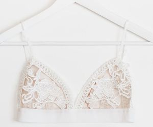 aesthetic, bralette, and lace image
