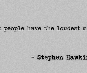 quote, stephen hawking, and mind image